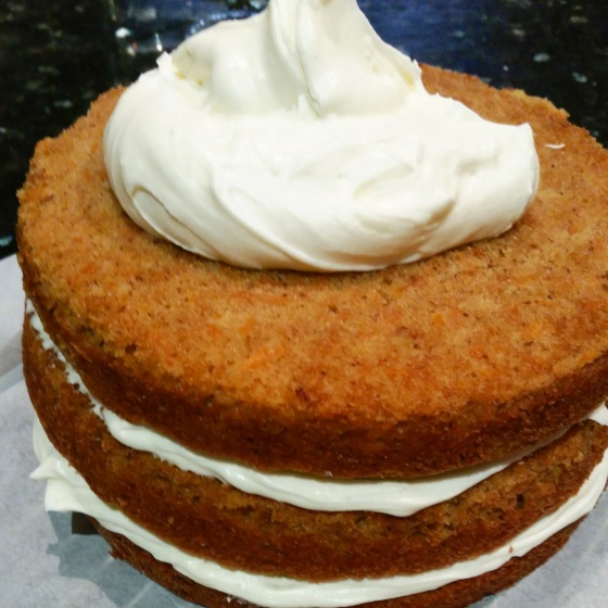 Carrot cake - icing