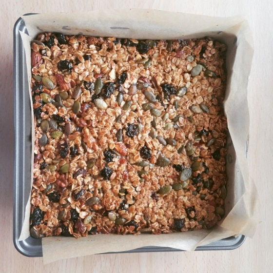 Cooked Flapjack