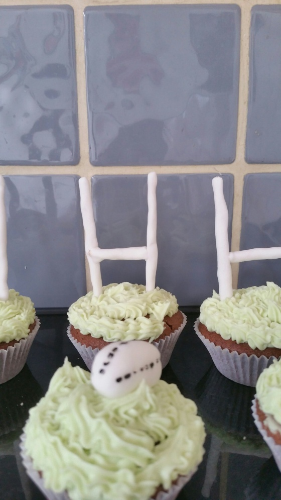 Cupcake close up
