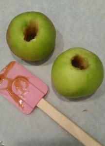 Apples pre caramel